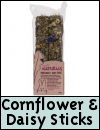 Boredom Breaker Treats » Cornflower & Daisy Sticks