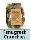 Boredom Breaker Treats » Fenugreek Crunchies