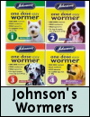 Johnson's Veterinary Worming Treatment for Dogs