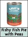 Lily's Kitchen Fishy Fish Pie WIth Peas Dog Food