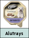 Cesar Alutrays Dog Food