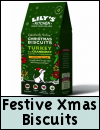 Lily's Kitchen Festive Biscuits for Dogs With Turkey & Cranberry