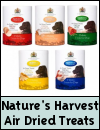 Nature's Harvest Air Dried Holistic Dog Treats