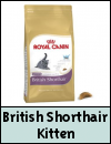 Royal Canin Feline Breed Nutrition British Shorthair Kitten Cat Food