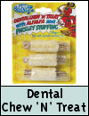 Pet Brands Dental Stuffed Chew 'N' Treat