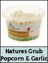 Natures Grub Chicken Popcorn Treat with Garlic