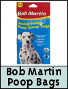 Bob Martin Biodegradable Poop Scoop Bags for Dogs