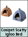 Cosipet Scatty Igloo Cat Bed