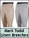 Mark Todd Ladies Linen Breeches