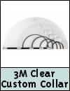 3M Clear Custom Pet Collar