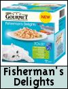 Gourmet Fisherman's Delights Cat Food