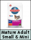 Hills Science Plan Small & Miniature Mature Adult Dog Food