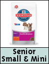 Hills Science Plan Small & Miniature Senior Dog Food