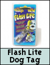 Pet Brands Flash Lite Safety Dog Tag