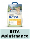 PURINA BETA Maintenance With Chicken Dog Food