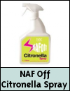 NAF Off Citronella Spray for Horses
