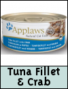 Applaws Natural Tuna Fillet with Crab Cat Food