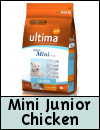 Ultima Mini Junior Rich in Chicken & Rice Dog Food