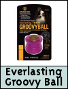 Starmark Everlasting Groovy Ball Dog Toy