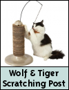 Wolf & Tiger Cat Scratching Post
