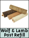 Wolf & Tiger Scratching Post Refill