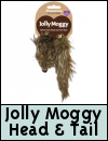 Jolly Moggy Silvervine Head & Tail Cat Toys