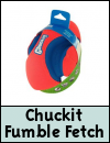 Chuckit Fumble Fetch Dog Toy