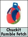 Chuckit Fumble Fetch Dog Toy