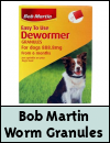 Bob Martin Easy to Use Dewormer Granules for Dogs & Cats