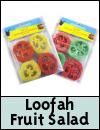 Snugglesafe Loofah Fruit Salad Toys