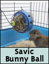Savic Bunny Toy Feeding Ball