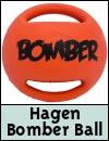 Hagen Bomber Ball Dog Toy