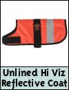Animate Unlined Hi Viz Dog Coat
