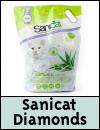 Sanicat Diamonds Aloe Vera Cat Litter