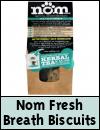 Nom Dogs Fresh Breath Biscuits