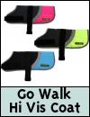 Go Walk Hi-Vis Dog Coat