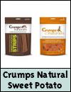 Crumps Naturals Sweet Potato Dog Treats