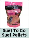 Suet To Go Pellets Wild Bird Food