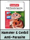 Beaphar Anti-Parasite Spot On for Golden Hamsters & Gerbils
