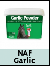NAF Garlic Powder & Granules for Horses