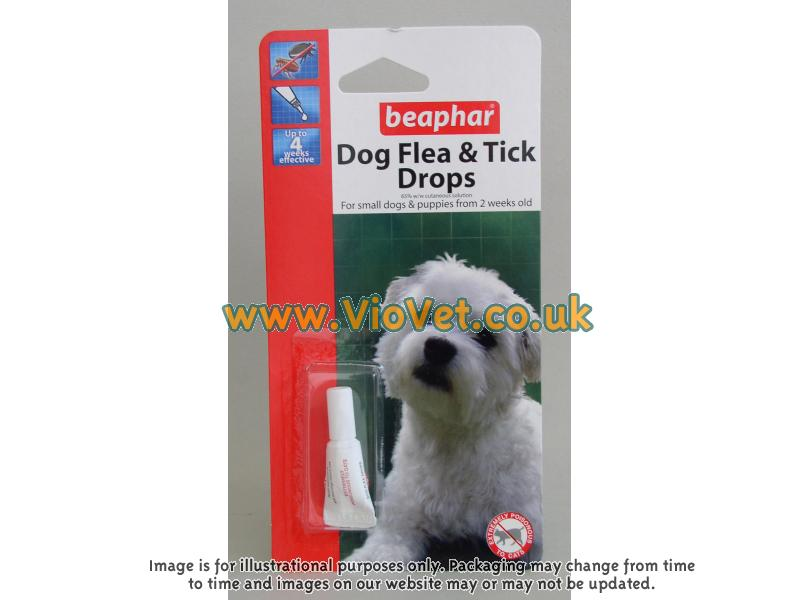 Flea Drops for Small Dogs » 4 Week Protection