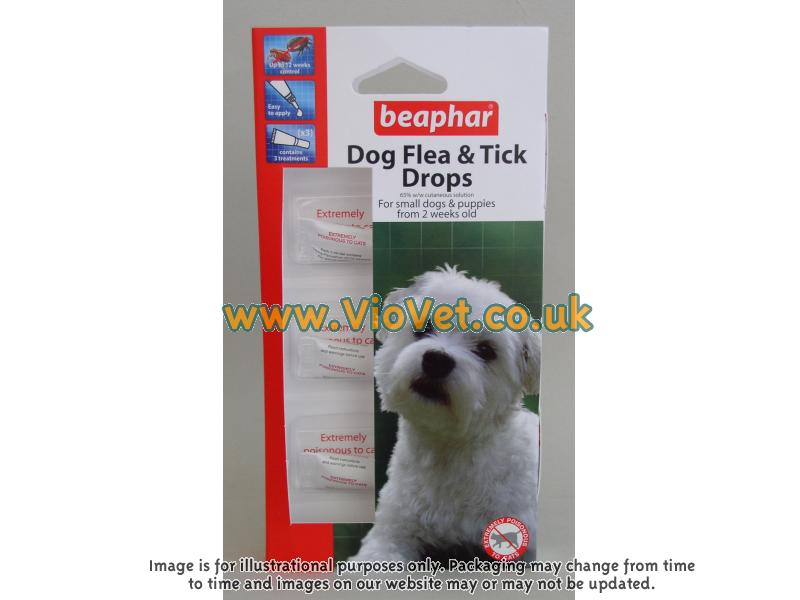 Flea Drops for Small Dogs » 12 Week Protection