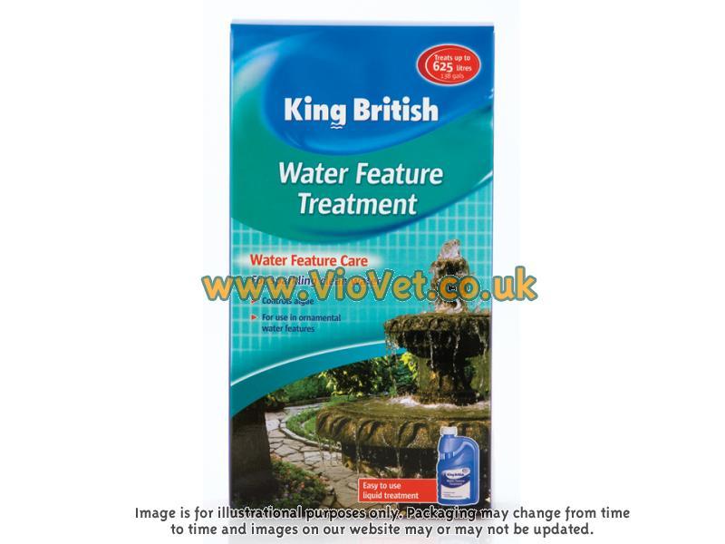 King British Water Feature Treatment Ebay