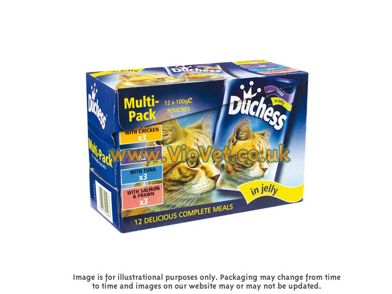 Duchess Jelly Multipack Wet » 12 x 100g Pouches