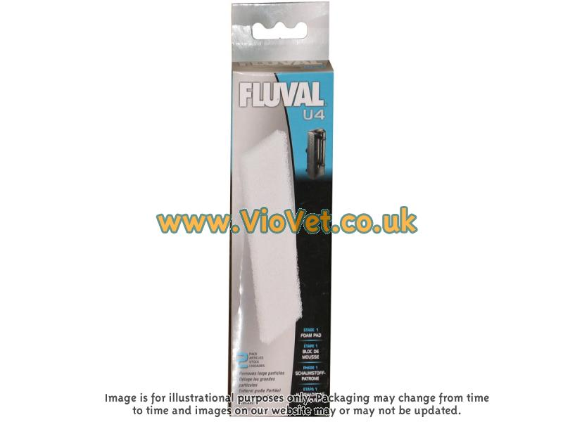 Fluval » U4 Filter Foam Pad (Pack of 2)