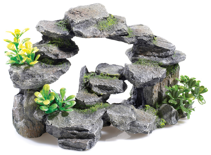 Rocky Arch With Plants » 27cm