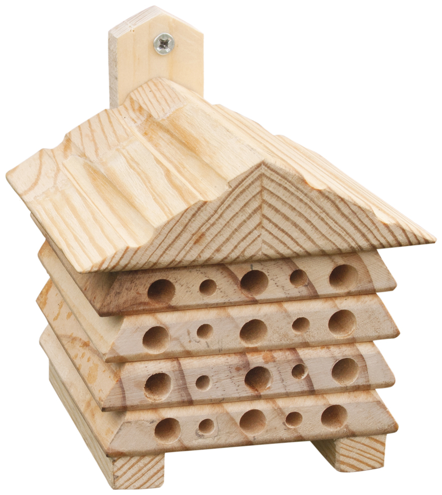 Bee House with Triangular Top