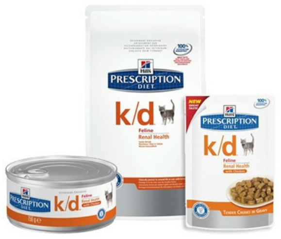 Hills Prescription Diet Feline K/D Cat Food