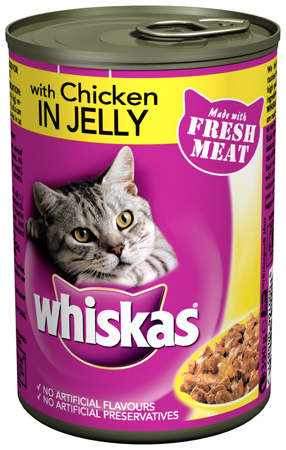 Chicken in Jelly Wet » 12 x 390g Cans