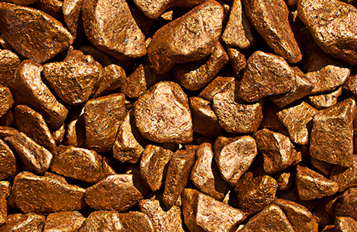 Bronze Pebbles » 2kg Bag